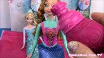 Disney Frozen Royal Color Changers Anna Elsa Dolls! Color Changers