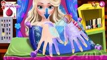 Эльза Салон красоты кино геймплей приложения для Android бесплатные детские лучшие топ-телевизионный фильм видео дети замороженные