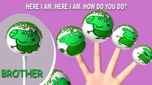 Peppa Pig Hulk Finger Family Nursery Rhymes Lyrics Peppa Pig Hulk Cake Pop Finger Family