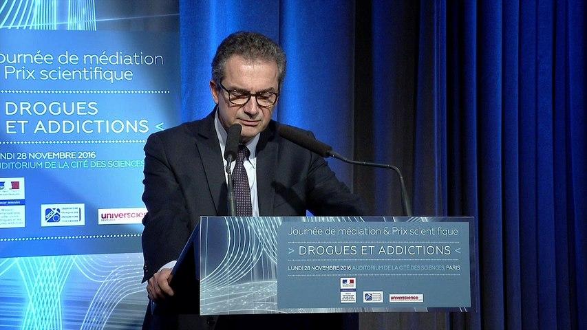 3 - Journée de médiation et Prix scientifique MILDECA « Drogues et addictions », 28 novembre 2016 – Ouverture - Yves Levy, président directeur général de l'INSERM - Alliance nationale pour les sciences de la vie et de la santé