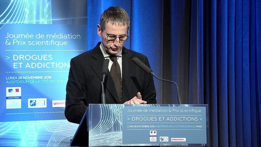 1 - Journée de médiation et Prix scientifique MILDECA « Drogues et addictions », 28 novembre 2016 – Ouverture - Bruno Maquart, président d'Universcience