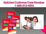 Quicken Support Number 1-800-513-4593, Quicken Toll free Helpline Number