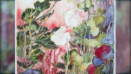 Lucie Collot Artiste Aquarelliste