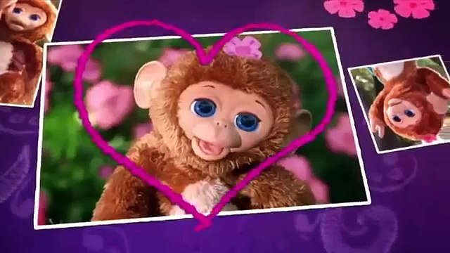 Hasbro - FurReal Friends - My Giggly Monkey Pet - Cuddles