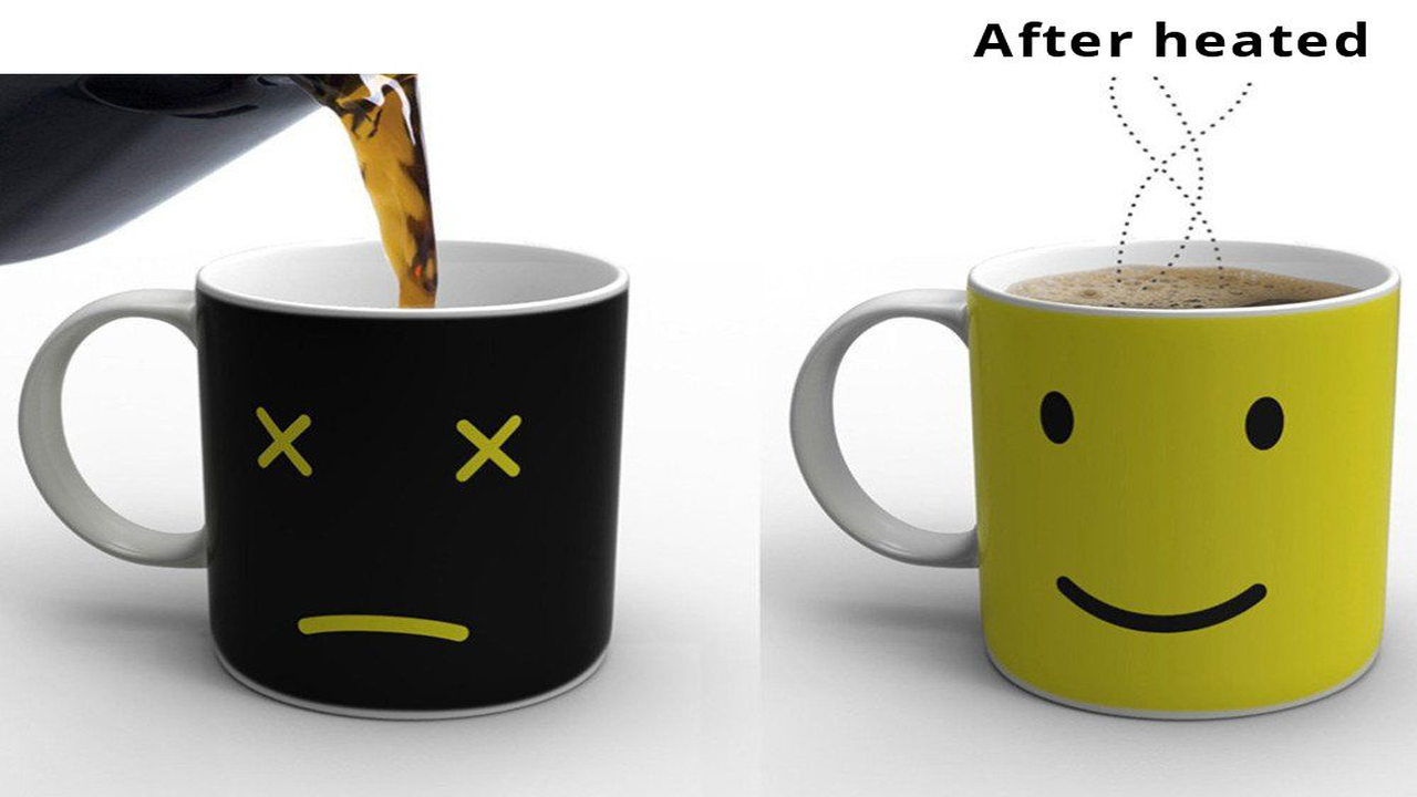 New Heat Changing Mug Color Cup Coffee