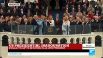 US Presidential inauguration: Donald Trump takes oath of office as 45th President