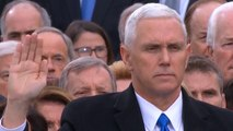 Mike Pence is sworn in as Vice President of the United States