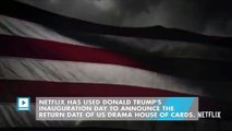 House of Cards releases chilling season 5 teaser before Trump inauguration