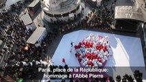 Hommage à l'Abbé Pierre, mort il y a dix ans