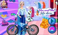 Disney Frozen Elsa and Olaf Game - Elsa And Olaf Bike Decor - Games For Kids in HD new