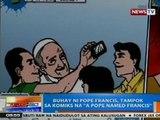 NTG: Buhay ni Pope Francis, tampok sa komiks na 'A Pope named Francis'