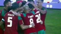 Goal Ghannam Romain Saiss Morocco vs Togo 2-1  But (20_01_2017) Maroc vs Togo