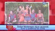 Ámbar Montenegro continúa generando polémica en reality chileno
