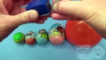 Surprise Eggs Learn Sizes from Smallest to Biggest Week! Lesson 1