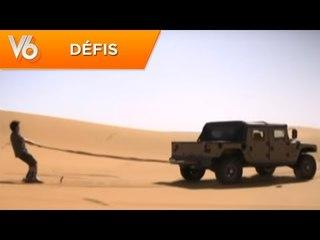 Humvee VS mobylette - Les défis de V6
