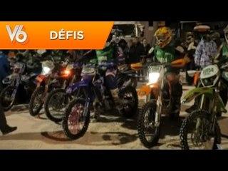 Trophée Andros en moto - Les défis de V6