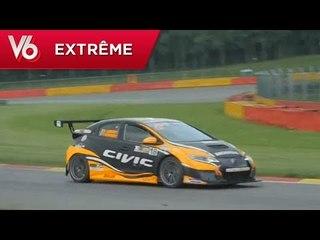 Honda CIVIC TCR - Les essais extrêmes de V6