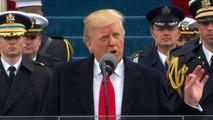 Trump: a partir de agora os EUA vêm em primeiro lugar