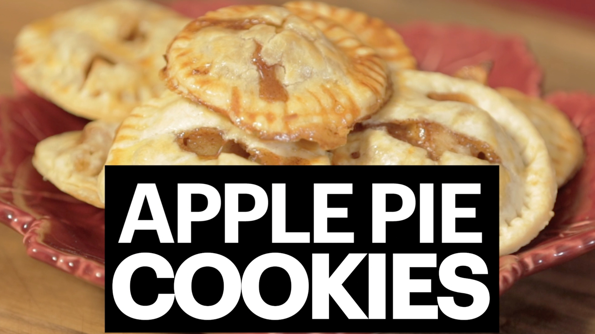 Delicious Apple Pie Cookies
