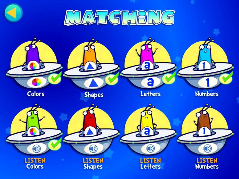 Alien Buddies – Preschool Learning Activities - Apps for Kids
