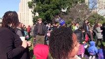 Martin Luther King day - Speakers - Yerba Buena Gardens, San Francisco 1-16-2017