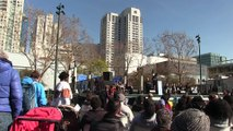 Martin Luther King day  - Interfaith Speakers - Yerba Buena Gardens, San Francisco 1-16-2017