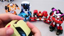 Tobot Robot Car Transformers Tayo The Little Bus English Learn Numbers Toy Surprise