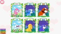 Animal Doctor Care. Puppies need your help. Care of Pets. Hospital. Kids Game App for toddlers.