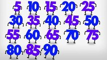 Counting by 5s Song to 100 – Counting to 100 by 5s - Count by 5 to 100 - Count to 100 by 5 for Kids