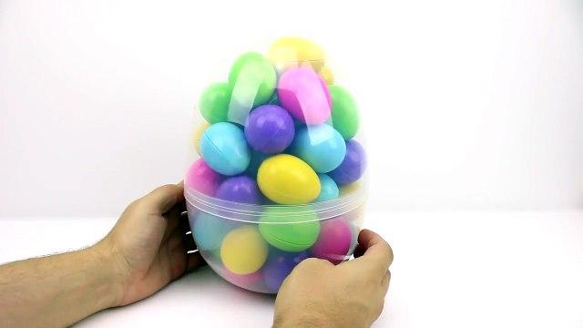 SHOPKINS! 50 hidden Shopkin toy surprises inside Play-Doh surprise eggs