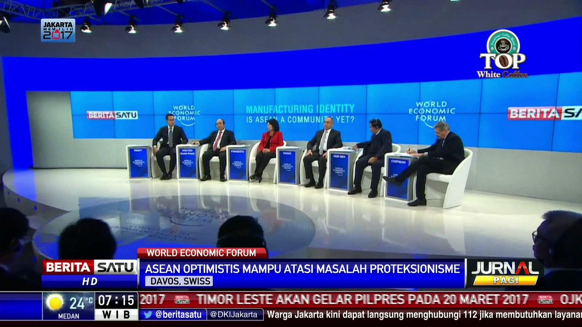Diskusi WEF Bahas Tantangan ASEAN di Era Populisme