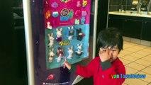Макдоналдс крытая спортивная площадка для детей Хэппи мил сюрприз игрушки shopkins кролики Райан ToysReview