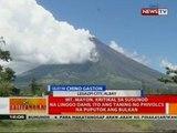 Mt. Mayon, kritikal sa susunod na linggo dahil ito ang taning ng Phivolcs na puputok ang bulkan