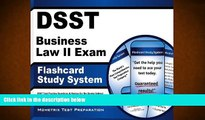Read Book DSST Business Law II Exam Flashcard Study System: DSST Test Practice Questions   Review