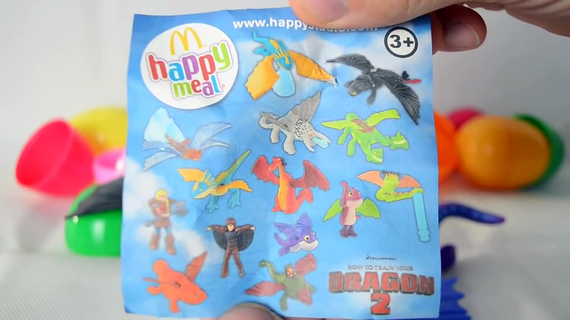 Mcdonalds Happy Meal Toys How To Train Your Dragon 2 Toys Mcdonalds Set Video Dailymotion
