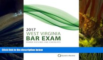 Audiobook  2017 West Virginia Bar Exam Primer Outlines and Checklists Quest Bar Review  For Kindle