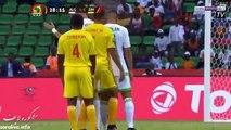 اهداف الشوط الاول  مباراة الجزائر 1-2 زيمبابوي [ تعليق حفيظ دراجي ]  كاس امم افريقيا 2017