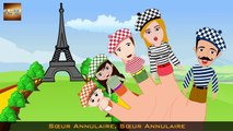 French Finger Family _ Famille de Doigt _ Comptines Francaises-IfLnFGLW588