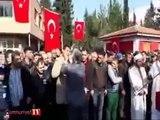 El Bab şehidinin cenaze töreninde isyan Protokol bizim önümüze geçemez!