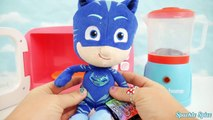 PJ Masks Plush Doll Toys Dolls & Just Like Home Magic Microwave Oven Play Kitchen Minnie Surprises