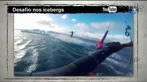 """Du kite-surf dans les icebergs, des nouvelles de Candide Thovex et skier en montée dans la revue """"Web & Sports"""""""