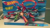 Hot Wheels Criss Cross Crash Track Motorized Toys Cars for Kids Disney Cars Toys Ryan ToysReview