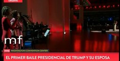 BAILE DE GALA DE DONALD TRUMP Y SU ESPOSA MELANIA/DONALD TRUMP GALA DANCE AND HIS MELANIA WIFE