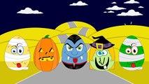 Halloween Kids Surprise Eggs Count Dracula Mummy Witch Pumpkin jack lantern Toys Factory Kids Video