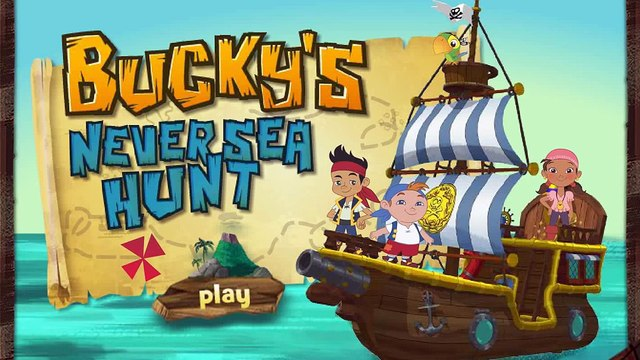 Jake and the Never Land Pirates - Buckys Neversea Hunt - Full Pirate Games for Kids