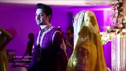 Pakistani Drama Actress Ayeza Khan & Danish Taimoor Wedding Video