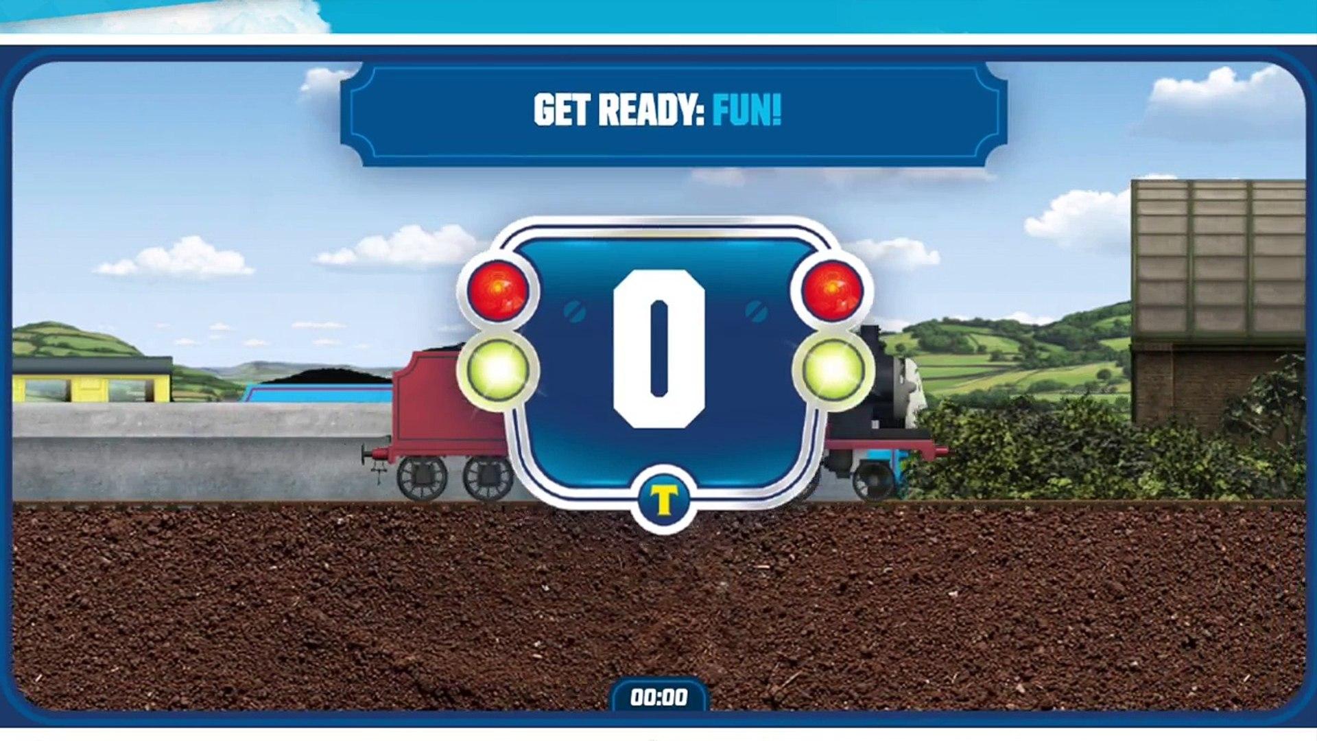 Thomas the Tank Engine Race Game Episode 5 Fun Baby Fun Fun