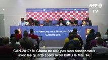 CAN-2017: le Ghana ne rate pas son rendez-vous avec les quarts