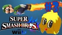 Death by Luigi Head - Super Smash Bros Wii U - part 3 - Luigi 2.0 classic