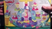 Playdoh Sweet Shop Ice Cream opening, Play-Doh Playset